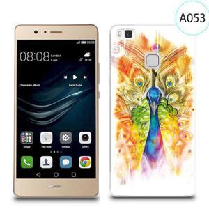 Etui silikonowe z nadrukiem do Huawei P9 Lite - paw malowany - 2834655808