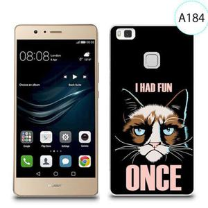 Etui silikonowe z nadrukiem do Huawei P9 Lite - i had fun once - 2834655835