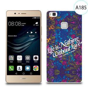 Etui silikonowe z nadrukiem do Huawei P9 Lite - life is nothing without love - 2834655836