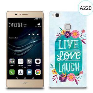 Etui silikonowe z nadrukiem do Huawei P9 Lite - live love laugh - 2834655851