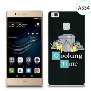 Etui silikonowe z nadrukiem do Huawei P9 Lite - breaking bad cooking time - 2834655882