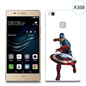 Etui silikonowe z nadrukiem do Huawei P9 Lite - kapitan ameryka - 2834655889