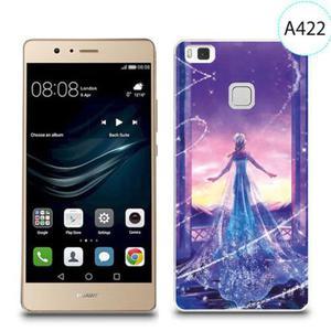 Etui silikonowe z nadrukiem do Huawei P9 Lite - kraina lodu elsa - 2834655904