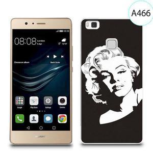 Etui silikonowe z nadrukiem do Huawei P9 Lite - merlin monroe - 2834655920