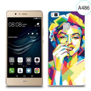 Etui silikonowe z nadrukiem do Huawei P9 Lite - merlin z papierosem - 2834655927