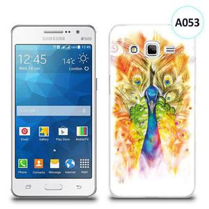 Etui silikonowe z nadrukiem Samsung Galaxy Grand Prime - paw malowany - 2834655958