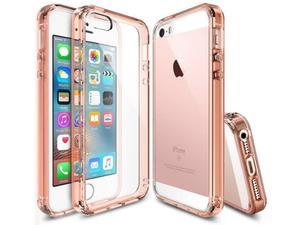 Etui Rearth Ringke Fusion iPhone 5S - Złoty - 2834655997