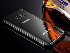 Oryginalne etui KXX BUMPER PLECKI mirror do Samsung Galaxy S7 - Czarny - 2835255593