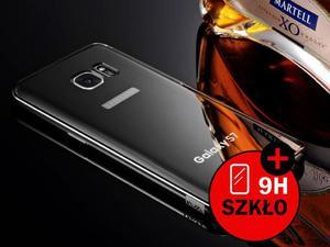 Oryginalne etui KXX BUMPER PLECKI mirror do Samsung Galaxy S7 - Czarny - 2835255596