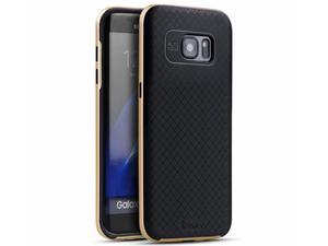 Oryginalne etui iPaky do Samsunga Galaxy S7 Edge Złote - Złoty - 2835255628