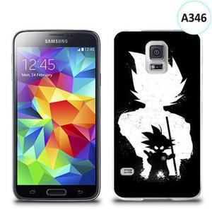 Etui silikonowe z nadrukiem Samsung Galaxy S5 - dragon ball goku - 2836066511