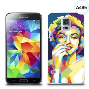 Etui silikonowe z nadrukiem Samsung Galaxy S5 - merlin z papierosem - 2836066554
