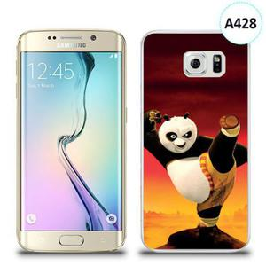 Etui silikonowe z nadrukiem Samsung Galaxy S6 Edge - kung fu panda styl - 2836310047