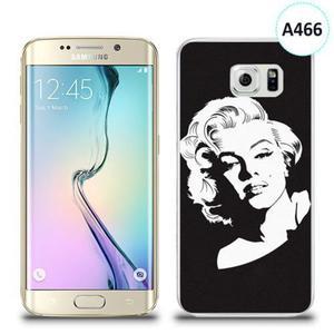 Etui silikonowe z nadrukiem Samsung Galaxy S6 Edge - merlin monroe - 2836310060