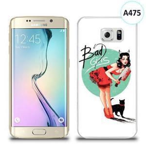 Etui silikonowe z nadrukiem Samsung Galaxy S6 Edge - bad girls - 2836310064