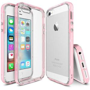 Etui ringke fusion frame iphone 5 / 5s / SE - Różowy - 2836310099