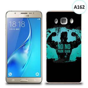 Etui silikonowe z nadrukiem Samsung Galaxy J5 2016 - no pain no gain - 2836490860