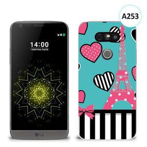 Etui silikonowe z nadrukiem LG G5 - wieża eiffla paris - 2836491057