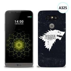Etui silikonowe z nadrukiem LG G5 - gra o tron winter is coming - 2836491081