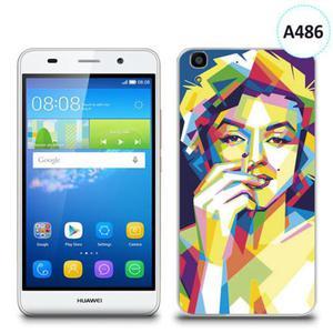 Etui silikonowe z nadrukiem Huawei Y6 - merlin z papierosem - 2836910809