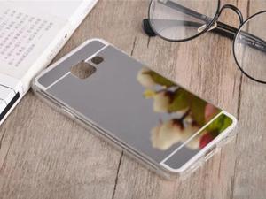 Etui lustrzane mirror gel Samsung Galaxy A3 2016 A310 Srebrne - Srebrny - 2837264785