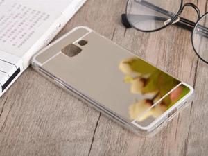 Etui lustrzane mirror gel Samsung Galaxy A3 2016 A310 Złote - Złoty - 2837264786