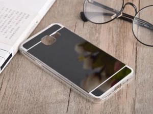 Etui lustrzane mirror gel Samsung Galaxy A3 2016 A310 Czarne - Czarny - 2837264788