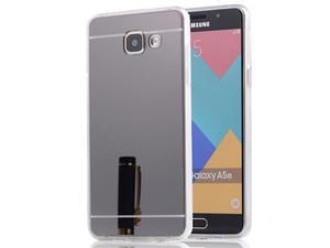 Etui lustrzane mirror gel Samsung Galaxy A5 2016 A510F Czarne - Czarny - 2837264796