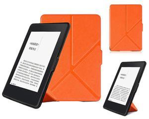 Etui ORIGAMI do Kindle Paperwhite 1 2 3 na magnes Pomarańczowe - Pomarańczowy - 2876231643