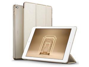 Etui ESR Smart Case iPad Air 2 Yippee Series Złote + Szkło Alogy - Złoty - 2876671246