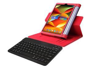 """Etui skórzane Lenovo Yoga Tab 3 Pro 10"""" X90 Czerwone + Klawiatura - Czerwony - 2857027796"""