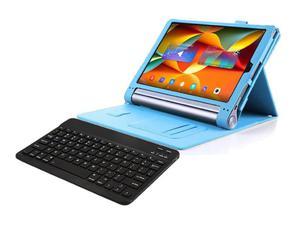 """Etui skórzane Lenovo Yoga Tab 3 Pro 10"""" X90 Niebieski + Klawiatura - Niebieski - 2857027799"""