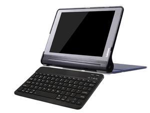 Etui smart Lenovo Yoga Tab 3 PRO 10 X90 granatowe +klawiatura - Granatowy - 2847757816