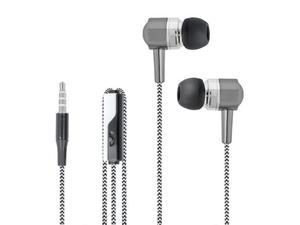 Słuchawki Przewodowe Forever SE-120 Biało-Czarne - 2848462853