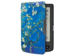 Etui Pocketbook 623/624/614/626 Touch Lux 2 i 3 Kwiatki na drzewie - Kwiatki - 2850209052