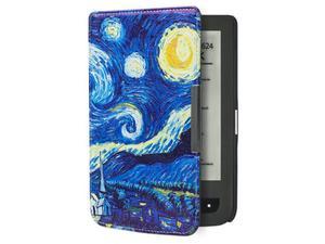 Etui do Pocketbook 624/614/626 Touch Lux 2 i 3 Gwiaździsta noc - Gwiaździsta noc (van Gogh) - 2850209055