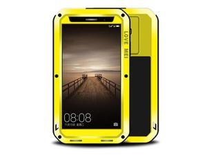 Etui Pancerne Love Mei Powerful Huawei Mate 9 żółte - Żółty - 2851951423