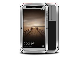 Etui Pancerne Love Mei Powerful Huawei Mate 9 srebrne - Srebrny - 2851951427