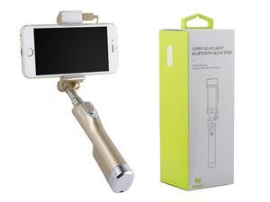 Benks uchwyt selfie stick bluetooth power bank champagne gold - 2855034548