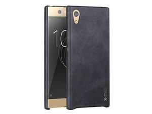Eleganckie etui x-level vintage Sony Xperia XA1 czarne - Czarny - 2857851393