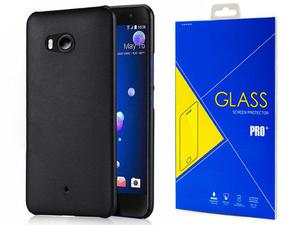 Etui X-level guardian HTC U11 czarne + szkło - 2876671371