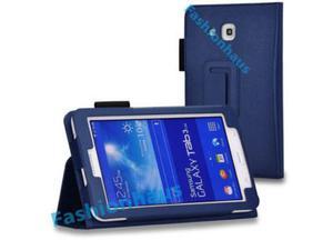 Etui stojak Samsung Galaxy Tab 3 7.0 LITE T113 Granatowy - Granatowy - 2825179040