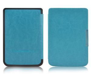 Etui na magnes do PocketBook touch LUX 2/3 626/ 624 /614 niebieskie - Niebieski - 2825179372