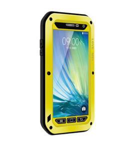 Pancerne etui LOVE MEI do Samsung Galaxy A5 ŻÓŁTY - Żółty - 2825179456