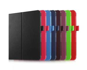 Fioletowe etui skórzane PU Stand Cover Galaxy Tab s2 8.0 T710 T715 - Fioletowy - 2825179718