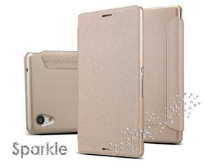 Etui Nillkin Sparkle Sony Xperia M4 Aqua Złote - Złoty - 2825179802