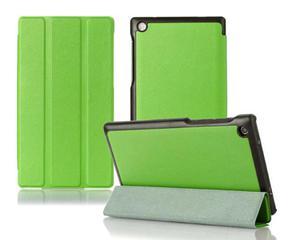 "Etui skórzane PU "" Book Cover"" Lenovo Tab 2 A7-30H - Zielony - 2825180000"