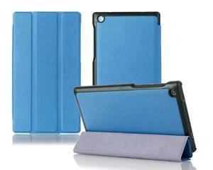 "Etui skórzane PU "" Book Cover"" Lenovo Tab 2 A7-30H - Niebieski - 2825180002"