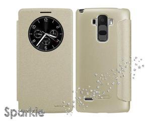 Etui Nillkin Sparkle LG G4 Stylus Złote - Złoty - 2825180072
