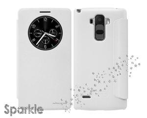 Etui Nillkin Sparkle LG G4 Stylus Białe - Biały - 2825180073